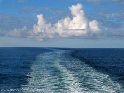 Ships wake