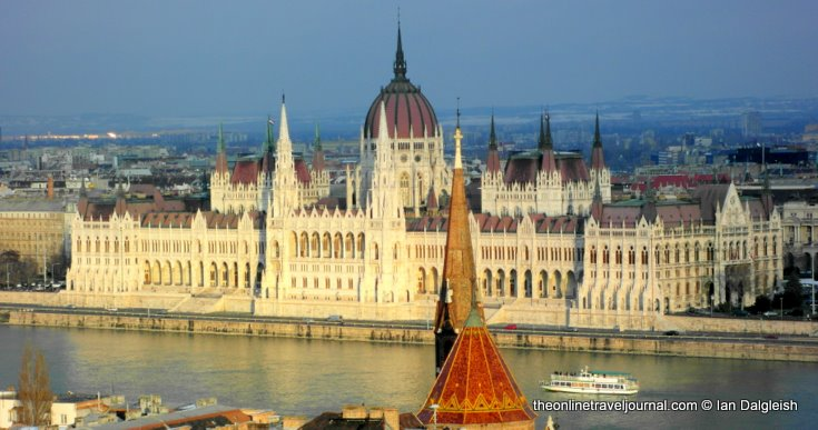 The Hungarian Parliament Building Budapest