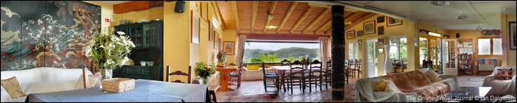 Quinta do Barranco da Estrada drawing &amp; dining rooms