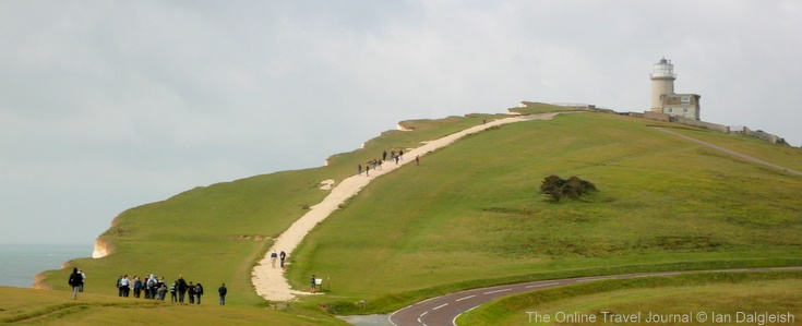 Belle Tout Lighthouse, South Downs Way near Eastbourne