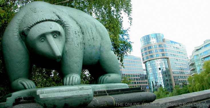 Berlin Bear - symbol of the city