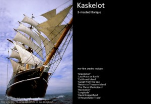 The 3-masted Barque  Kaskelot