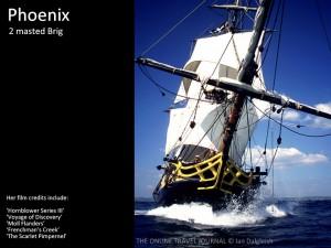 The 2 masted Brig Phoenix