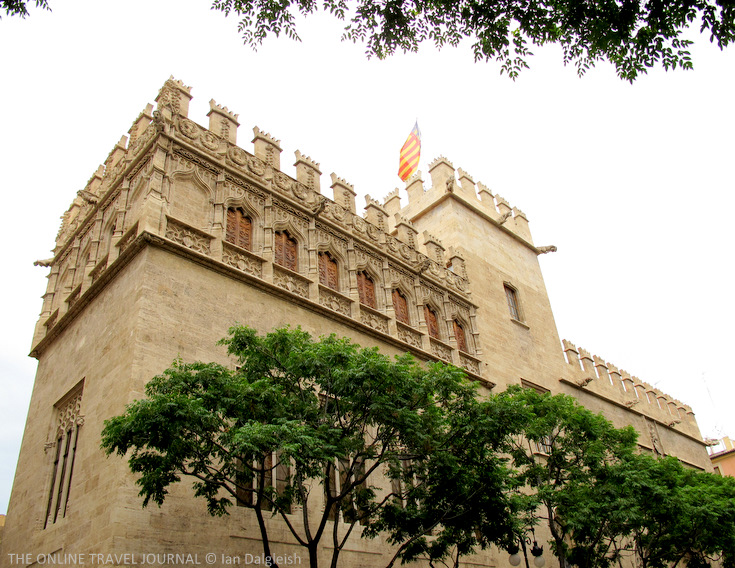 The Llotja de la Seda - Silk Exchange - Lonja de la Seda - Valencia - Spain