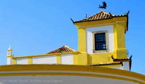 Yellow and White Building Faro Portugal