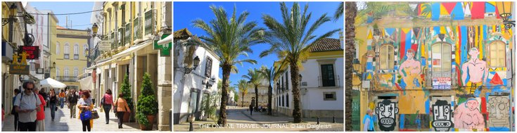 Down town Faro Portugal