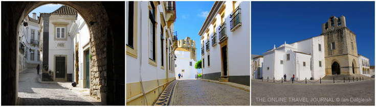 Faro Old Town - Arco da Vila & Cathedral - Portugal
