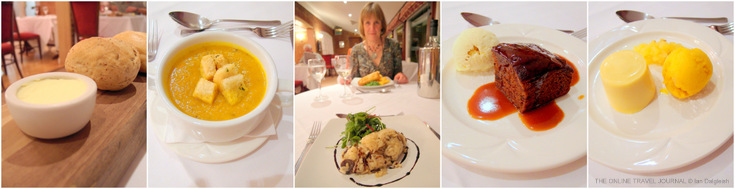 Dinner Storm Restaurant Dower House Hotel