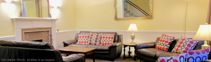 Sitting Room Dower House Hotel