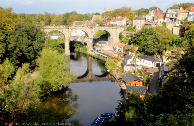 Knaresborough, Yorkshire _View of viaduct & River Nidd
