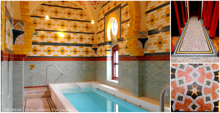 Plunge Pool & Terrazzo Mosaic Floor _ Turkish Baths Harrogate