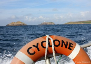 Riding The Cyclone, Bryher Boats, Isles of Scillly