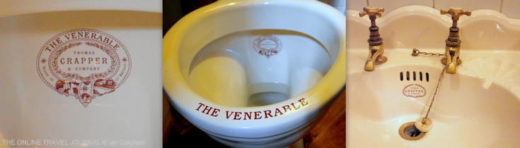 Thomas Crapper's  sanitary porcelain designs - Turkish Baths Harrogate