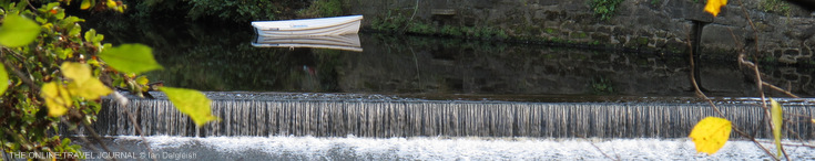Weir & Boat R.Nidd, Knaresborough