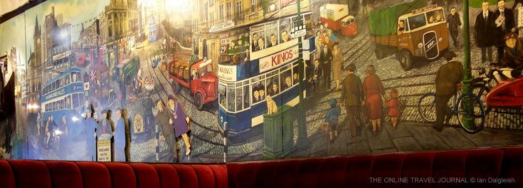 Mural, Spirit of Bradford Bar, Midland Hotel, Bradford