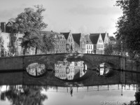 Bridge over canal in Bruges. Brugge is a timeless place. © PhotoTour Brugge