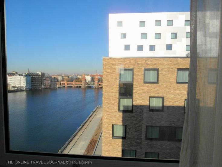 nhow Hotel, Berlin view