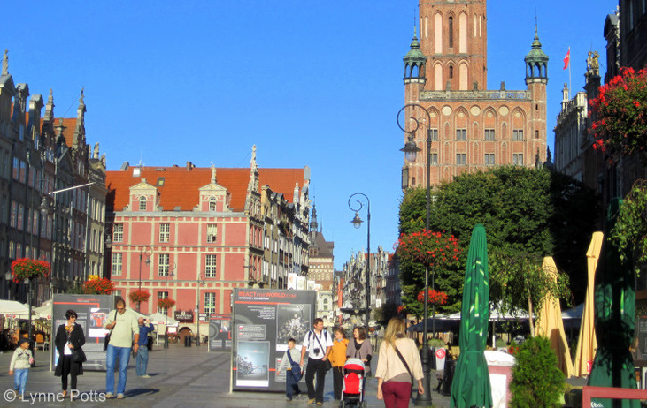Gdansk City Square, Poland