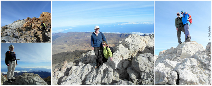 On summit of Mount Teide_Tenerife