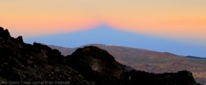 Shadow of Mount Teide_Tenerife