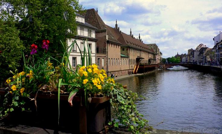 River Strasbourg_RhineCruiseHC  © Heather Cowper