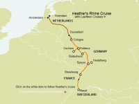 Rhine Cruise map