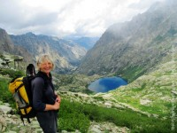Above Lac de Melu on the GR20