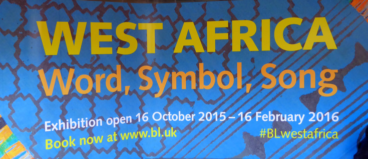 West Africa Word Symbol Song Exhibition