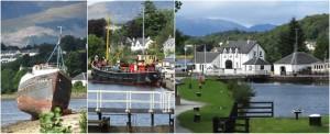 Great Glen Way LochGreat Glen Way Loch Linnhe and Banavie Locks
