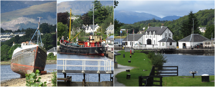 Great Glen Way Loch Linnhe and Banavie Locks