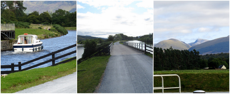 Great Glen Way - Moy Swing Bridge, Towpath, Gairlochy Top Loch