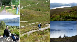 Great Glen Way, St Augustus - Invermoriston high level route