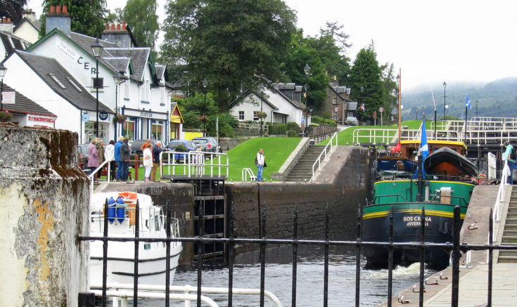 Jacobs Ladder, Fort Augustus, Caledonian Canal